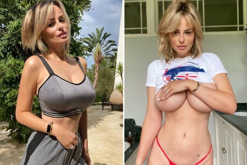 Rhian Sugden strips naked for sultry pic after hitting the gym on Ibiza holiday