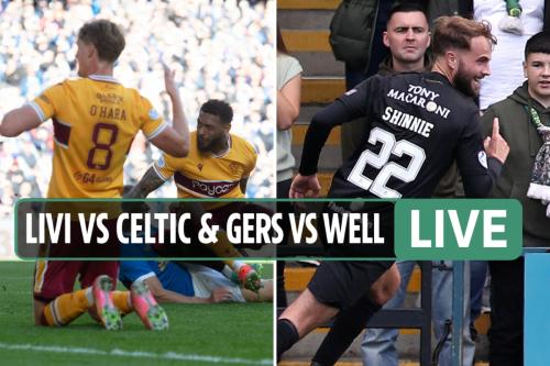 Rangers vs Motherwell & Livi vs Celtic: Live stream, TV channel, kick-off time