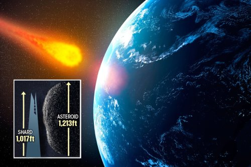 Huge 1,200ft 'God of Chaos' asteroid speeding up and could hit Earth in 48 years