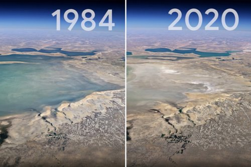 Incredible Google timelapse reveals how Earth has changed over 30 years