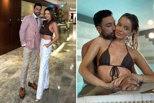 Maura Higgins shows off abs in a crop top on £1,000 date with Giovanni Pernice