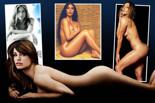 Can you guess what these celebs such as Kim K are advertising by posing nude?