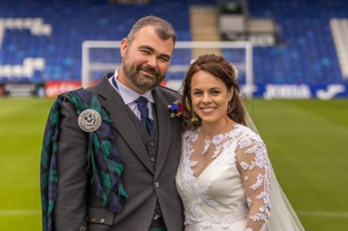 Kate Forbes looks anything but budget bride as Finance Sec ties the knot