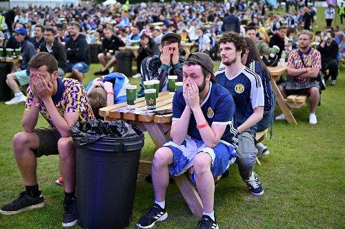 Tartan Army heartbroken but full of pride as Scotland crashes out of Euro 2020