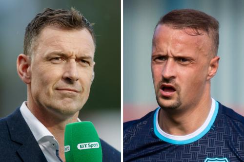 Leigh Griffiths' behaviour was 'disgraceful', says Chris Sutton