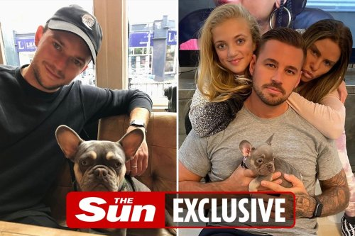 Katie Price gives away daughter Princess's dog Precious to mucky mansion show crew member