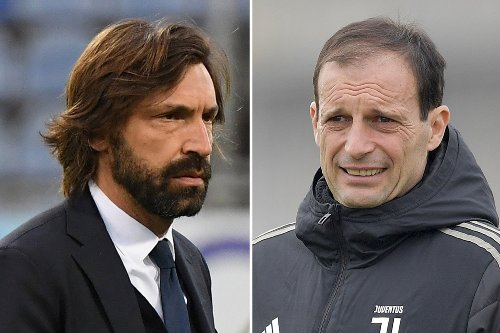 Juventus 'plan to replace Pirlo with Allegri and could sack boss after Napoli'