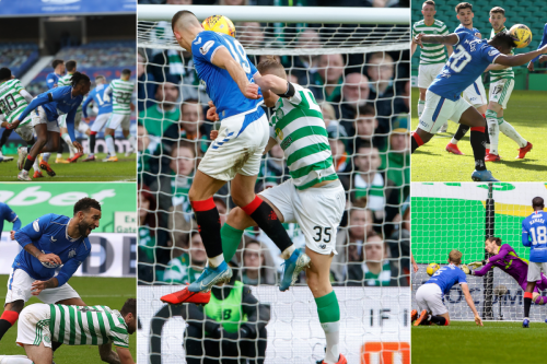 A closer look at Rangers' last 5 Old Firm goals, which all came after set plays