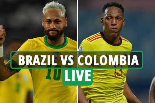 Brazil 2 Colombia 1: Neymar and co advance with controversial Copa America win