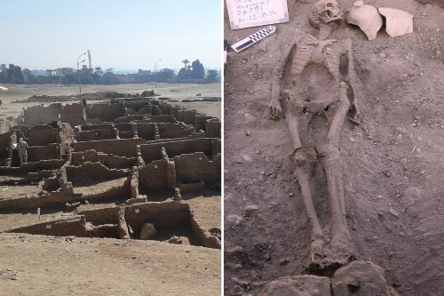 Lost 'Golden City of Luxor' uncovered in Egypt after 3,000 years