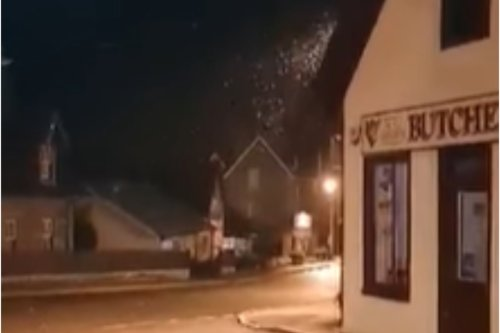 Scotland sees its first snow of the season as flurries fall in Highlands