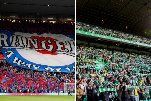 Ibrox named UK's best stadium for atmosphere with Celtic Park in second