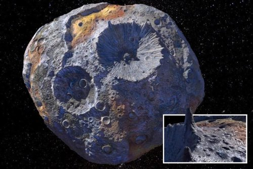 Giant golden asteroid contains enough heavy metals to make everyone on Earth a billionaire – and Nasa is heading there in 2022