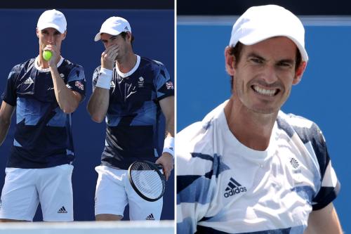 Andy Murray has cheeky victory celebration with Team GB team-mate Joe Salisbury