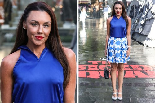 Michelle Heaton stuns as she returns to the red carpet after alcohol battle