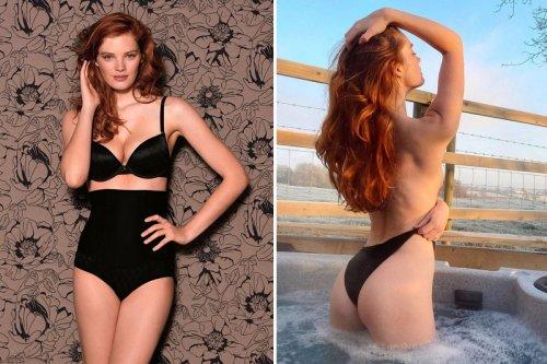 Victoria's Secret model Alexina Graham looks sensational in high-waisted undies