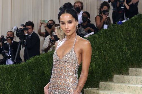 Actress Zoe Kravitz faces Instagram backlash after going 'practically naked' to Met Gala