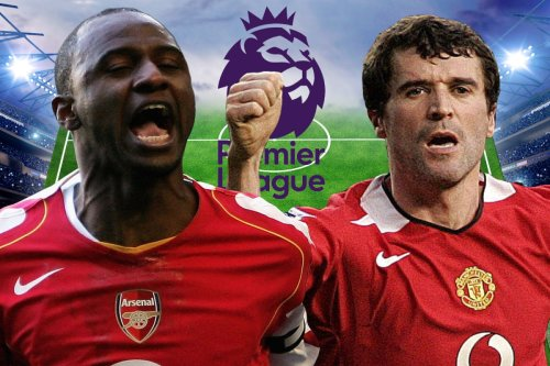 Premier League XI of greatest captains including two Man Utd and Arsenal legends