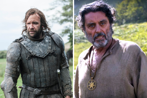 Game of Thrones' Rory McCann smacked by flying burger by co-star Ian McShane