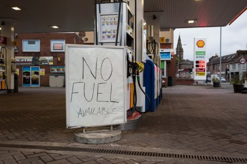 Scotland's petrol shortages should ease 'within days' despite pumps running dry