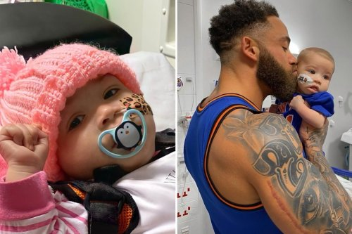 Ashley Cain pays tribute to daughter Azaylia two months after her death