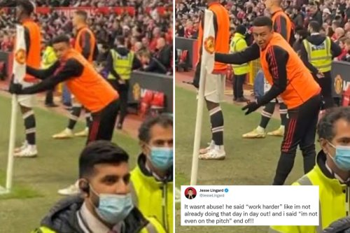 'I'm not on the pitch' - Sub Lingard responds to irate Man Utd fans