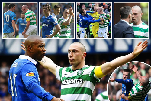 Celtic star Brown's Rangers flashpoints over the years as Old Firm days near end