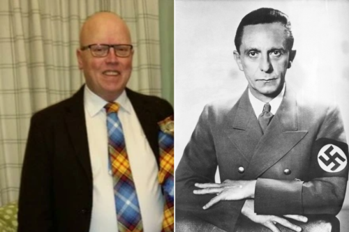 SNP candidate blasted for suggesting Labour inspired by Nazi Joseph Goebbels