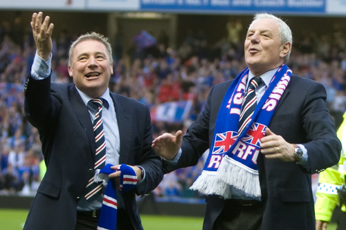 Ally McCoist recalls rocking out to ACDC with Walter Smith