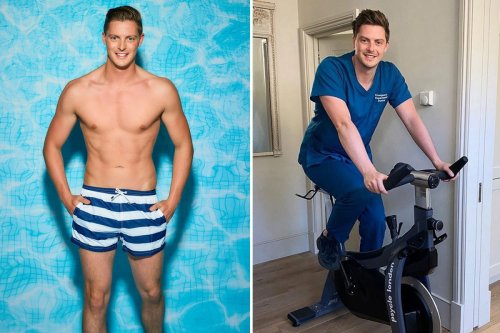 Dr Alex George went on an 'extreme' diet and worked out for two hours a day for FIVE months before Love Island