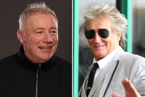 Ally McCoist jokes Celtic-daft Rod Stewart has 'lost the plot' over title call