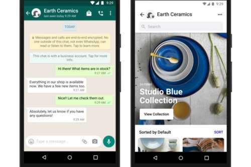 WhatsApp updated with virtual shops – how to find Facebook's bizarre new feature