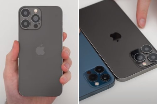 iPhone 13 video 'reveals' Apple's new phone design four MONTHS before launch