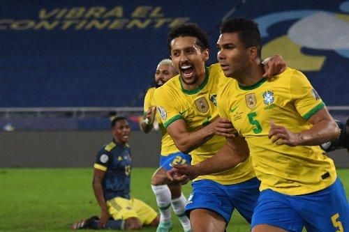 Casemiro fires Brazil to controversial 2-1 Copa America win over Colombia
