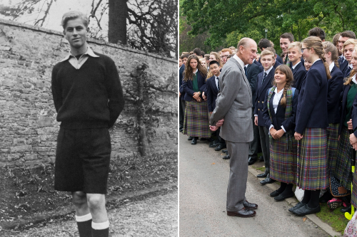 Prince Philip's backbone was forged among Scots during his time at school here