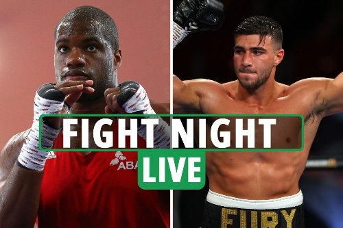 Fight Night LIVE RESULTS: Tommy Fury and Daniel Dubois in action
