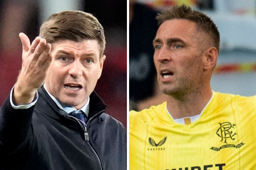 Steven Gerrard tells Rangers players they 'stitched up' McGregor in Hearts draw