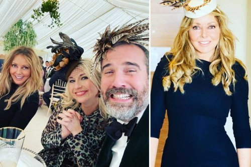Carol Vorderman shares unseen pics of Kym Marsh's wedding after accidentally revealing she'd secretly married