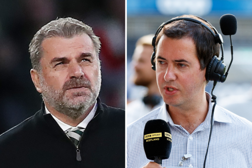 Postecoglou on BBC man's 'funny question' as colleague says he had 'nightmare'