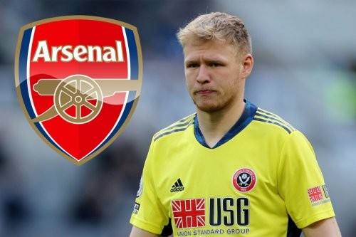 Arsenal told to up Ramsdale offer to £32m as they plot third swoop for keeper