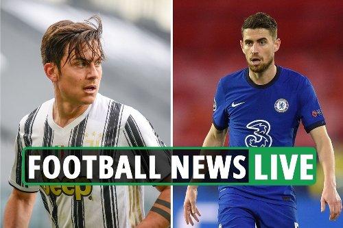 Chelsea Dybala-Jorginho swap, Haaland LATEST, Arsenal Aubameyang update - Liverpool and Man City transfer news
