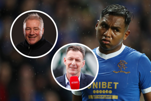 Alfredo Morelos looks like he's 'carrying a bit of timber', says Ally McCoist
