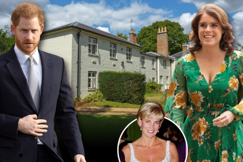Harry to stay at Frogmore Cottage with Eugenie when he comes to unveil Di statue