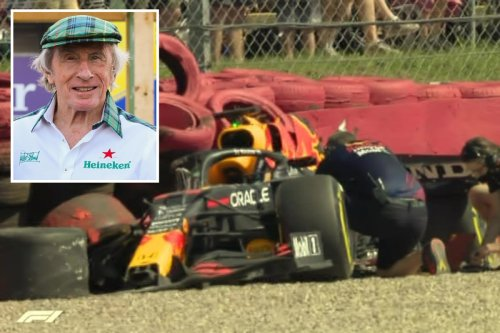 Jackie Stewart says Verstappen would've died if Hamilton crash was in his day