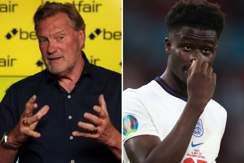 Hoddle urges brave England star Saka to see psychologist after penalty agony