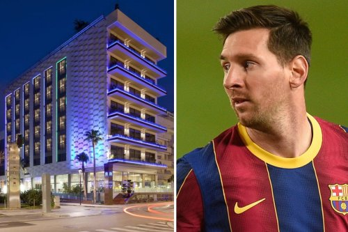 Lionel Messi installs new pool in hotel so guests can listen to music underwater