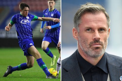 Everton plot transfer swoop for Liverpool icon Jamie Carragher's SON from Wigan