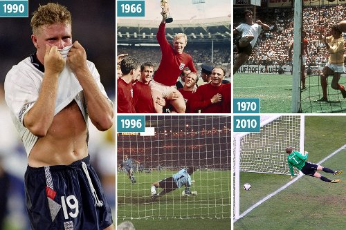 England set up Germany clash & its time to end years of tears since '66