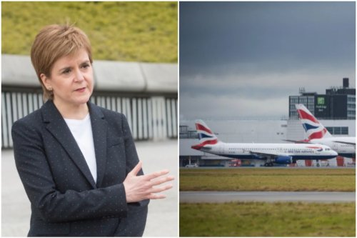 Sturgeon says holidays abroad won't happen for months amid air industry 'snub'