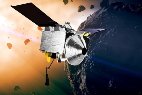 Nasa probe hurtling back to Earth with crucial rocks from 'doomsday' asteroid